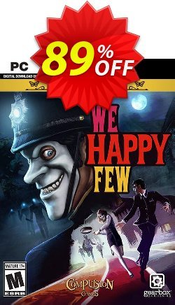 We Happy Few Deluxe Edition PC Coupon discount We Happy Few Deluxe Edition PC Deal - We Happy Few Deluxe Edition PC Exclusive Easter Sale offer for iVoicesoft