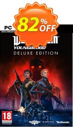 Wolfenstein: Youngblood Deluxe Edition PC - EMEA  Coupon discount Wolfenstein: Youngblood Deluxe Edition PC (EMEA) Deal - Wolfenstein: Youngblood Deluxe Edition PC (EMEA) Exclusive Easter Sale offer for iVoicesoft