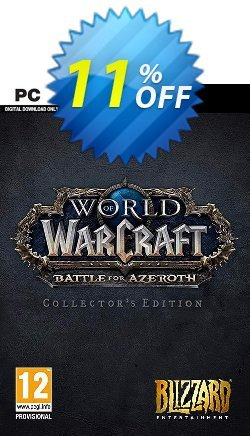 World of Warcraft Battle for Azeroth - Collector's Edition PC - EU  Coupon discount World of Warcraft Battle for Azeroth - Collector's Edition PC (EU) Deal - World of Warcraft Battle for Azeroth - Collector's Edition PC (EU) Exclusive Easter Sale offer for iVoicesoft