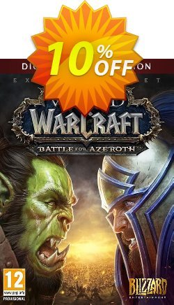 World of Warcraft Battle for Azeroth - Deluxe Edition PC - EU  Coupon discount World of Warcraft Battle for Azeroth - Deluxe Edition PC (EU) Deal - World of Warcraft Battle for Azeroth - Deluxe Edition PC (EU) Exclusive Easter Sale offer for iVoicesoft