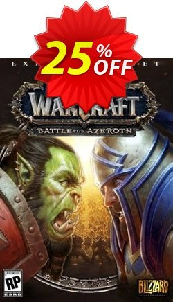 World of Warcraft Battle for Azeroth DLC PC - US  Coupon discount World of Warcraft Battle for Azeroth DLC PC (US) Deal - World of Warcraft Battle for Azeroth DLC PC (US) Exclusive Easter Sale offer for iVoicesoft