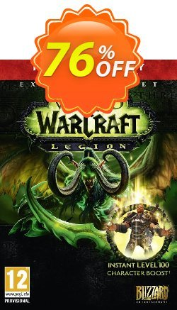 World of Warcraft - WoW : Legion PC/Mac - EU  Coupon discount World of Warcraft (WoW): Legion PC/Mac (EU) Deal - World of Warcraft (WoW): Legion PC/Mac (EU) Exclusive Easter Sale offer for iVoicesoft