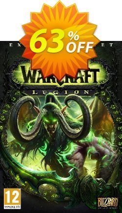 World of Warcraft - WoW - Legion PC/Mac - EU  Coupon discount World of Warcraft (WoW) - Legion PC/Mac (EU) Deal - World of Warcraft (WoW) - Legion PC/Mac (EU) Exclusive Easter Sale offer for iVoicesoft