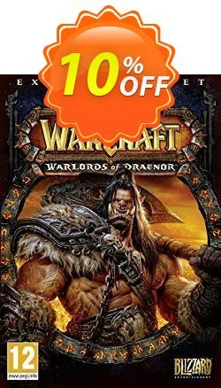 World of Warcraft - WoW : Warlords of Draenor PC/Mac Coupon discount World of Warcraft (WoW): Warlords of Draenor PC/Mac Deal - World of Warcraft (WoW): Warlords of Draenor PC/Mac Exclusive Easter Sale offer for iVoicesoft