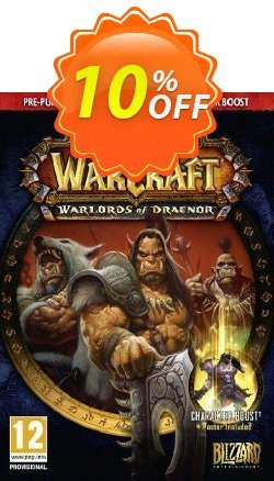 World of Warcraft - WoW : Warlords of Draenor Pack PC/Mac Coupon discount World of Warcraft (WoW): Warlords of Draenor Pack PC/Mac Deal - World of Warcraft (WoW): Warlords of Draenor Pack PC/Mac Exclusive Easter Sale offer for iVoicesoft