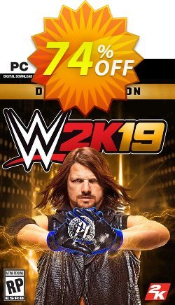 WWE 2K19 Deluxe Edition PC - EU  Coupon discount WWE 2K19 Deluxe Edition PC (EU) Deal - WWE 2K19 Deluxe Edition PC (EU) Exclusive Easter Sale offer for iVoicesoft