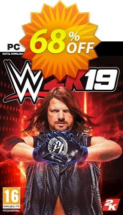 WWE 2K19 PC - EU  Coupon discount WWE 2K19 PC (EU) Deal - WWE 2K19 PC (EU) Exclusive Easter Sale offer for iVoicesoft