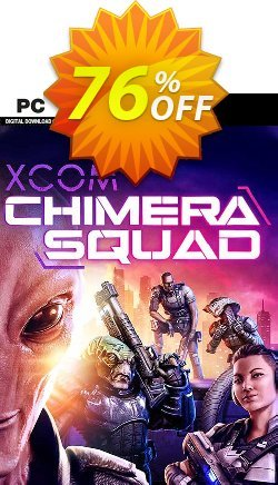 XCOM: Chimera Squad PC - WW  Coupon discount XCOM: Chimera Squad PC (WW) Deal - XCOM: Chimera Squad PC (WW) Exclusive Easter Sale offer for iVoicesoft