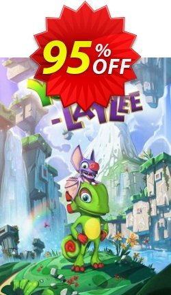 Yooka-Laylee PC Coupon discount Yooka-Laylee PC Deal - Yooka-Laylee PC Exclusive Easter Sale offer for iVoicesoft