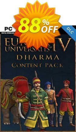 Europa Universalis IV 4 Dharma Content Pack PC Coupon discount Europa Universalis IV 4 Dharma Content Pack PC Deal - Europa Universalis IV 4 Dharma Content Pack PC Exclusive Easter Sale offer for iVoicesoft