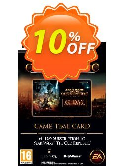 Star Wars: The Old Republic Time Card - PC  Coupon discount Star Wars: The Old Republic Time Card (PC) Deal - Star Wars: The Old Republic Time Card (PC) Exclusive Easter Sale offer for iVoicesoft