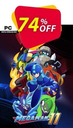 Mega Man 11 PC Coupon discount Mega Man 11 PC Deal. Promotion: Mega Man 11 PC Exclusive offer for iVoicesoft