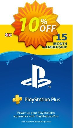 PlayStation Plus - 15 Month Subscription - UK  Coupon discount PlayStation Plus - 15 Month Subscription (UK) Deal - PlayStation Plus - 15 Month Subscription (UK) Exclusive Easter Sale offer for iVoicesoft