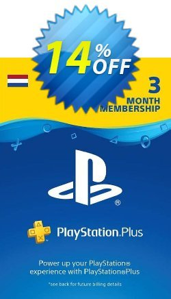 Playstation Plus - PS+ - 3 Month Subscription - Netherlands  Coupon discount Playstation Plus (PS+) - 3 Month Subscription (Netherlands) Deal - Playstation Plus (PS+) - 3 Month Subscription (Netherlands) Exclusive Easter Sale offer for iVoicesoft