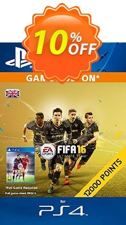 12,000 FIFA 16 Points PS4 PSN Code - UK account Coupon discount 12,000 FIFA 16 Points PS4 PSN Code - UK account Deal - 12,000 FIFA 16 Points PS4 PSN Code - UK account Exclusive Easter Sale offer for iVoicesoft