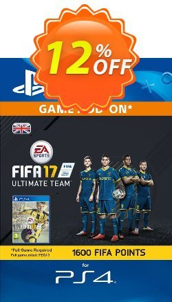 1600 FIFA 17 Points PS4 PSN Code - UK account Coupon discount 1600 FIFA 17 Points PS4 PSN Code - UK account Deal - 1600 FIFA 17 Points PS4 PSN Code - UK account Exclusive Easter Sale offer for iVoicesoft