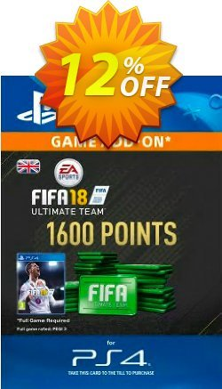 1600 FIFA 18 Points PS4 PSN Code - UK account Coupon discount 1600 FIFA 18 Points PS4 PSN Code - UK account Deal - 1600 FIFA 18 Points PS4 PSN Code - UK account Exclusive Easter Sale offer for iVoicesoft
