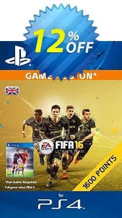 1600 FIFA 16 Points PS4 PSN Code - UK account Coupon discount 1600 FIFA 16 Points PS4 PSN Code - UK account Deal - 1600 FIFA 16 Points PS4 PSN Code - UK account Exclusive Easter Sale offer for iVoicesoft