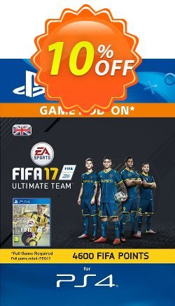 4600 FIFA 17 Points PS4 PSN Code - UK account Coupon discount 4600 FIFA 17 Points PS4 PSN Code - UK account Deal - 4600 FIFA 17 Points PS4 PSN Code - UK account Exclusive Easter Sale offer for iVoicesoft