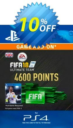 4600 FIFA 18 Points PS4 PSN Code - UK account Coupon discount 4600 FIFA 18 Points PS4 PSN Code - UK account Deal - 4600 FIFA 18 Points PS4 PSN Code - UK account Exclusive Easter Sale offer for iVoicesoft