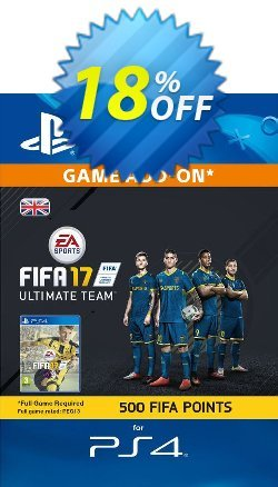 500 FIFA 17 Points PS4 PSN Code - UK account Coupon discount 500 FIFA 17 Points PS4 PSN Code - UK account Deal - 500 FIFA 17 Points PS4 PSN Code - UK account Exclusive Easter Sale offer for iVoicesoft
