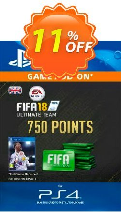 750 FIFA 18 Points PS4 PSN Code - UK account Coupon discount 750 FIFA 18 Points PS4 PSN Code - UK account Deal - 750 FIFA 18 Points PS4 PSN Code - UK account Exclusive Easter Sale offer for iVoicesoft
