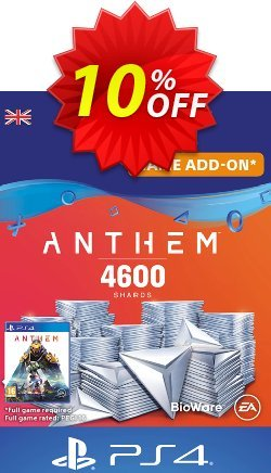 Anthem 4600 Shards PS4 - UK  Coupon discount Anthem 4600 Shards PS4 (UK) Deal - Anthem 4600 Shards PS4 (UK) Exclusive Easter Sale offer for iVoicesoft
