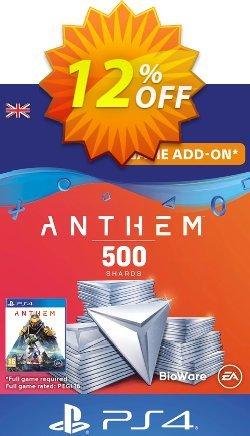 Anthem 500 Shards PS4 - UK  Coupon discount Anthem 500 Shards PS4 (UK) Deal - Anthem 500 Shards PS4 (UK) Exclusive Easter Sale offer for iVoicesoft