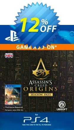 Assassins Creed Origins Season Pass PS4 Coupon discount Assassins Creed Origins Season Pass PS4 Deal - Assassins Creed Origins Season Pass PS4 Exclusive Easter Sale offer for iVoicesoft