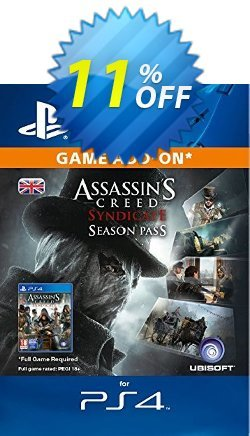 Assassins Creed Syndicate - Season Pass PS4 Coupon discount Assassins Creed Syndicate - Season Pass PS4 Deal - Assassins Creed Syndicate - Season Pass PS4 Exclusive Easter Sale offer for iVoicesoft