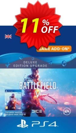 Battlefield V 5 Deluxe Edition Upgrade PS4 Coupon discount Battlefield V 5 Deluxe Edition Upgrade PS4 Deal - Battlefield V 5 Deluxe Edition Upgrade PS4 Exclusive Easter Sale offer for iVoicesoft