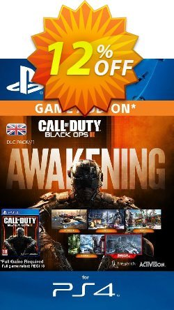 Call of Duty - COD Black Ops III 3 Awakening DLC PS4 Coupon discount Call of Duty (COD) Black Ops III 3 Awakening DLC PS4 Deal - Call of Duty (COD) Black Ops III 3 Awakening DLC PS4 Exclusive Easter Sale offer for iVoicesoft