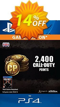 Call of Duty - COD Black Ops III 3 Points 2000 - +400 PS4 Coupon discount Call of Duty (COD) Black Ops III 3 Points 2000 (+400) PS4 Deal - Call of Duty (COD) Black Ops III 3 Points 2000 (+400) PS4 Exclusive Easter Sale offer for iVoicesoft