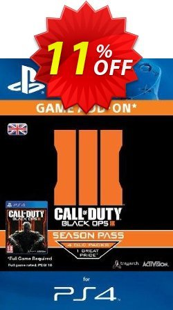 Call of Duty - COD : Black Ops III 3 Season Pass - PS4  Coupon discount Call of Duty (COD): Black Ops III 3 Season Pass (PS4) Deal - Call of Duty (COD): Black Ops III 3 Season Pass (PS4) Exclusive Easter Sale offer for iVoicesoft