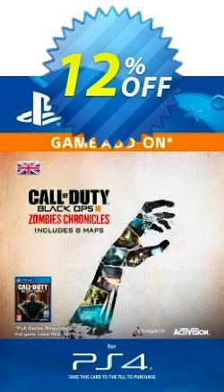 Call of Duty - COD Black Ops III 3 Zombie Chronicles PS4 Coupon discount Call of Duty (COD) Black Ops III 3 Zombie Chronicles PS4 Deal - Call of Duty (COD) Black Ops III 3 Zombie Chronicles PS4 Exclusive Easter Sale offer for iVoicesoft