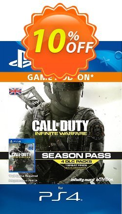 Call of Duty - COD Infinite Warfare - Season Pass PS4 Coupon discount Call of Duty (COD) Infinite Warfare - Season Pass PS4 Deal - Call of Duty (COD) Infinite Warfare - Season Pass PS4 Exclusive Easter Sale offer for iVoicesoft
