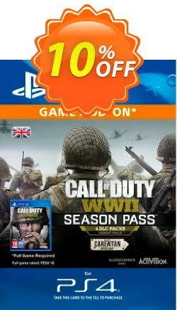 Call of Duty - COD WWII - Season Pass PS4 Coupon discount Call of Duty (COD) WWII - Season Pass PS4 Deal - Call of Duty (COD) WWII - Season Pass PS4 Exclusive Easter Sale offer for iVoicesoft