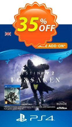 Destiny 2: Forsaken DLC PS4 Coupon discount Destiny 2: Forsaken DLC PS4 Deal - Destiny 2: Forsaken DLC PS4 Exclusive Easter Sale offer for iVoicesoft