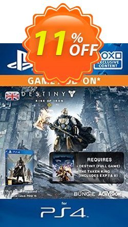 Destiny Rise of Iron PS4 Coupon discount Destiny Rise of Iron PS4 Deal - Destiny Rise of Iron PS4 Exclusive Easter Sale offer for iVoicesoft