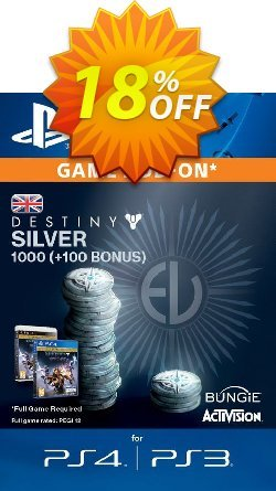 Destiny Silver 1000 - +100 PS3/PS4 Coupon discount Destiny Silver 1000 (+100) PS3/PS4 Deal - Destiny Silver 1000 (+100) PS3/PS4 Exclusive Easter Sale offer for iVoicesoft