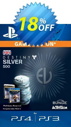 Destiny Silver 500 PS3/PS4 Coupon discount Destiny Silver 500 PS3/PS4 Deal - Destiny Silver 500 PS3/PS4 Exclusive Easter Sale offer for iVoicesoft