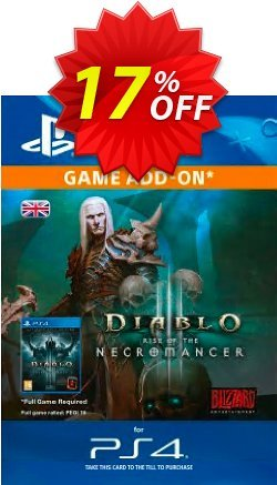 Diablo III: Rise of the Necromancer PS4 Coupon discount Diablo III: Rise of the Necromancer PS4 Deal - Diablo III: Rise of the Necromancer PS4 Exclusive Easter Sale offer for iVoicesoft