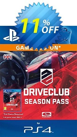 DRIVECLUB Season Pass PS4 Coupon, discount DRIVECLUB Season Pass PS4 Deal. Promotion: DRIVECLUB Season Pass PS4 Exclusive Easter Sale offer for iVoicesoft