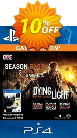 Dying Light Season Pass PS4 Coupon discount Dying Light Season Pass PS4 Deal - Dying Light Season Pass PS4 Exclusive Easter Sale offer for iVoicesoft