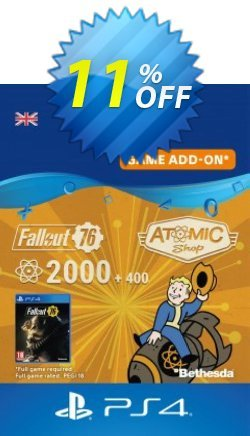 Fallout 76 - 2400 Atoms PS4 Coupon discount Fallout 76 - 2400 Atoms PS4 Deal - Fallout 76 - 2400 Atoms PS4 Exclusive Easter Sale offer for iVoicesoft