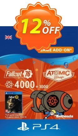 Fallout 76 - 5000 Atoms PS4 Coupon discount Fallout 76 - 5000 Atoms PS4 Deal - Fallout 76 - 5000 Atoms PS4 Exclusive Easter Sale offer for iVoicesoft