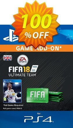 FIFA 18 Ultimate Team Pack PS4 Coupon discount FIFA 18 Ultimate Team Pack PS4 Deal - FIFA 18 Ultimate Team Pack PS4 Exclusive Easter Sale offer for iVoicesoft