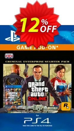 Grand Theft Auto Online - GTA V - Criminal Enterprise Starter Pack PS4 Coupon discount Grand Theft Auto Online (GTA V) - Criminal Enterprise Starter Pack PS4 Deal - Grand Theft Auto Online (GTA V) - Criminal Enterprise Starter Pack PS4 Exclusive Easter Sale offer for iVoicesoft