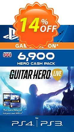 Guitar Hero Live 6900 Hero Cash Pack PS4 Coupon, discount Guitar Hero Live 6900 Hero Cash Pack PS4 Deal. Promotion: Guitar Hero Live 6900 Hero Cash Pack PS4 Exclusive Easter Sale offer for iVoicesoft