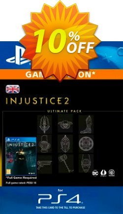 Injustice 2 Ultimate Pack PS4 Coupon discount Injustice 2 Ultimate Pack PS4 Deal - Injustice 2 Ultimate Pack PS4 Exclusive Easter Sale offer for iVoicesoft